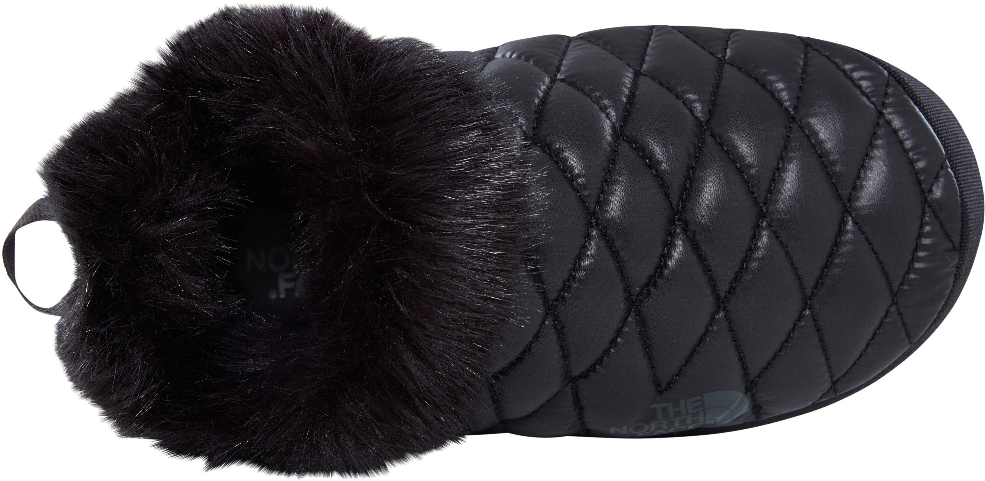 d6de77464c The North Face ThermoBall Tent Mule Faux Fur IV - Chaussons Femme - noir